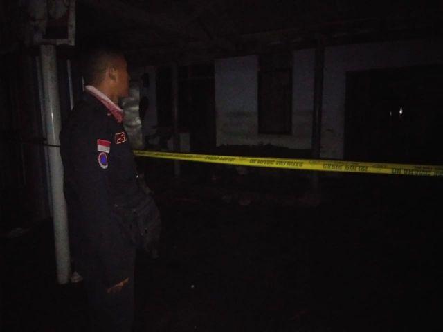 Konsleting Listrik, Rumah di Desa Kalibendo Terbakar