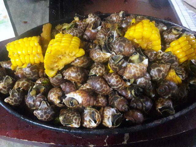 Sunrise Seafood  Sajikan Keong Macan Berlumur Saus Mercon Rasanya Nendang di Lidah
