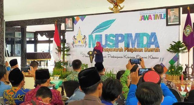 Kofifah Tutup Muspimda PMII Jatim di Pendopo Arya Wiraraja Lumajang