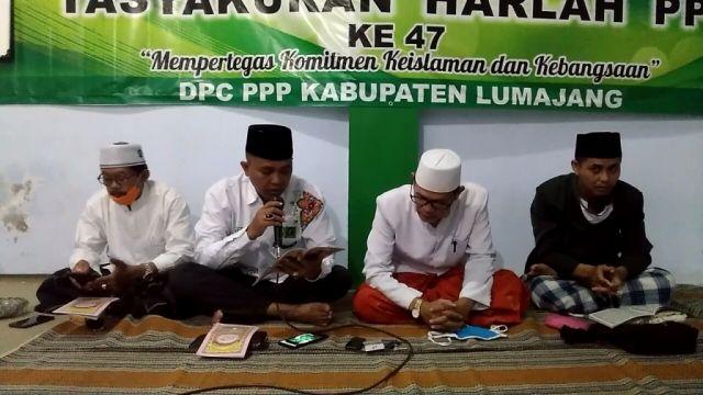PPP Lumajang Ikut Khotmil Qur'an Online Do'akan Keselamatan Bangsa
