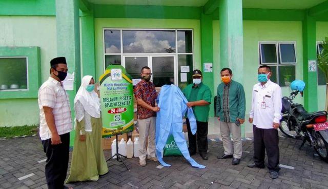 Nur Yasin DPR RI PKB Sumbang APD dan Obat-obatan ke Klinik NU Lumajang