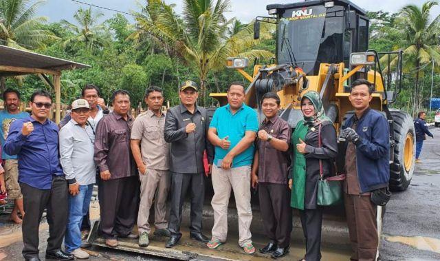 Sidak Komisi C DPRD Lumajang Temukan Stockpile Timbun Pasir Illegal