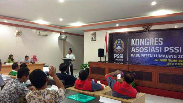 Cak Thoriq Buka Kongres Tahunan Askab PSSI Lumajang