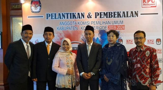 Selamat.! Yuyun Baharita Terpilih Jadi Ketua KPU Lumajang 2019-2024