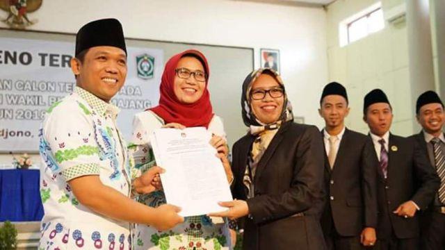 Thoriq-Indah Ditetapkan KPU Sebagai Bupati dan Wakil Terpilih 2018-2023