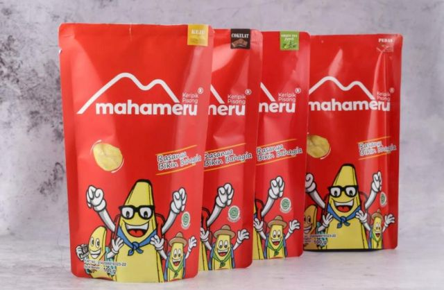 Kripik Pisang Mahameru Lumajang Rebut Pasar Mall Hingga e-Commerce