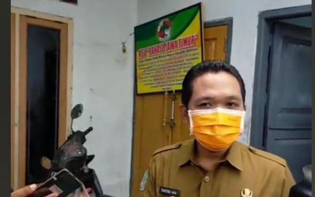 Cak Thoriq Segel KSU Rahayu Jawa Timur di Jalan Gatot Subroto Lumajang