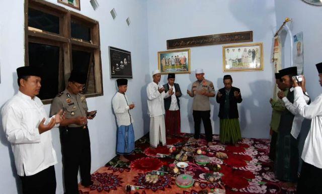 Pengasuh Ponpes Nurul Faroh Mangunsari Do'akan AKBP Arsal Sukses di Bogor