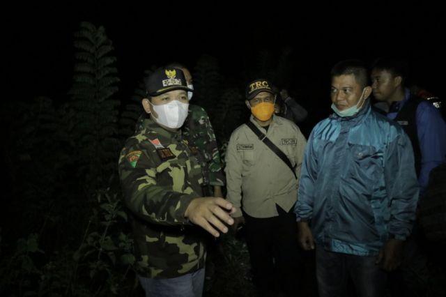 Cak Thoriq Cek Dampak Lahar Dingin Semeru di Desa Sumbewuluh Lumajang