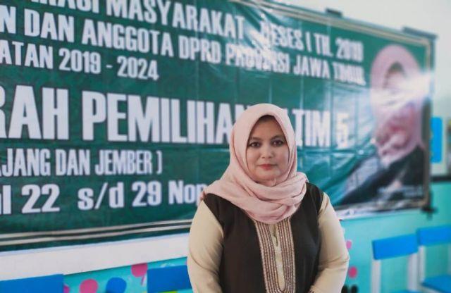 Ning Laila Wakil Santri Lumajang di DPRD Jawa Timur