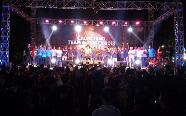 Launching Team dan Jersey Semeru FC Dipenuhi Ribuan Semeru Mania