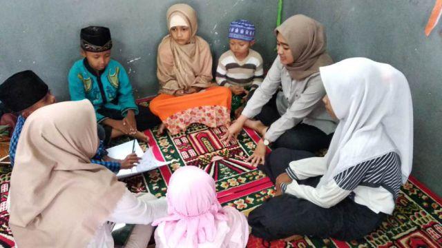 Halma UM Berbagi Bersama Anak-anak LKSA Al-Hasyimiy Kunir Lor