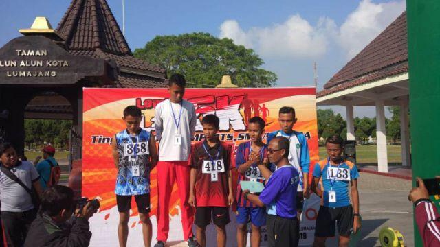 Ini Pemenang Lomba Lari 5K Dispora Lumajang 2019