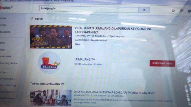 Admin YouTube LUMAJANGTV Juga Dilaporkan Polisi