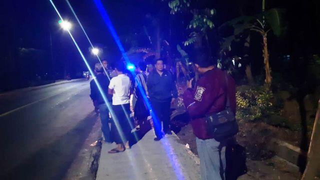 Bagal Sadis Mulai Teror Pengendara di Jalan Raya Ranuyoso