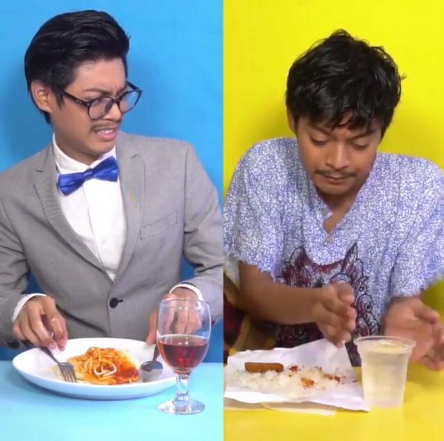 Gaya Makan Anak Instagram Vs Twitter, Bikin Netizen Ngakak!