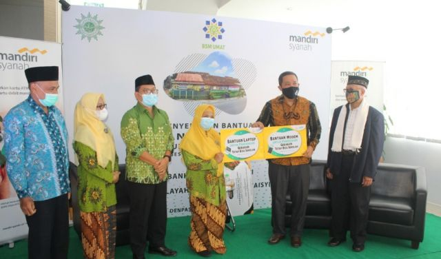 Mandiri Syariah dan Muhammadiyah Bangun Gedung Sekolah PAUD