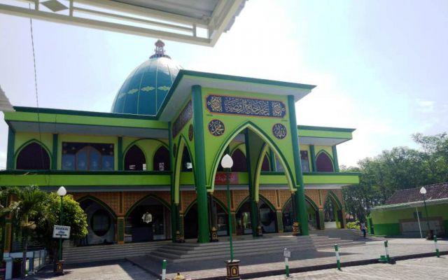 Nama Masjid Ar-Raudhoh Labruk Kidul Diberikan Habib Abu Bakar Lumajang
