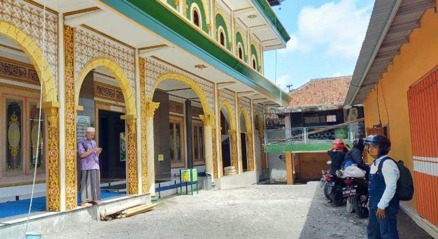Masjid Darus Salam Sukodono Lumajang Disatroni Maling Sepeda Motor