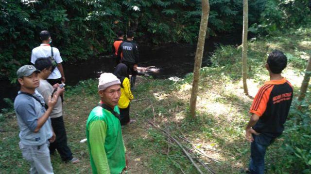 Warga Kunir Geger Penemuan Mayat Mengapung di Sungai