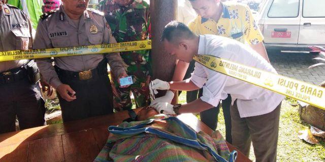 Sesosok Mayat Ditemukan Warga di Rest Area SPBU Patahunan Lumajang