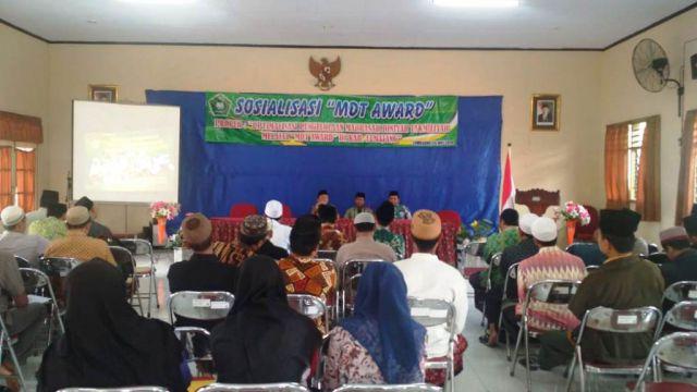 RMI NU dan Kemenag Lumajang Gelar Madrasah Diniyah Takmilyah Award 2019