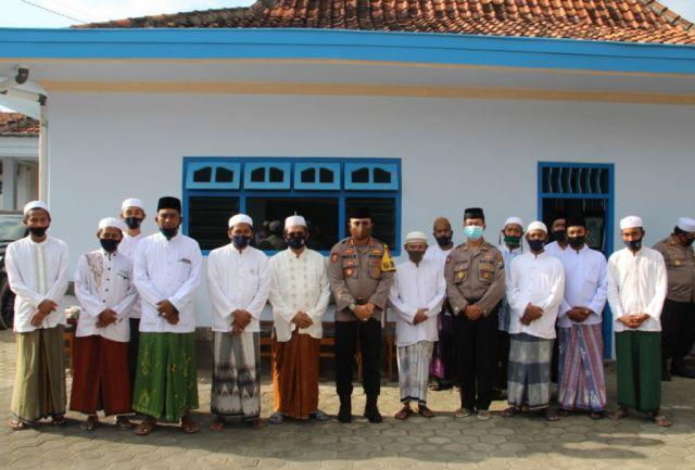 Kapolres Lumajang Gelar Rangkaian Silaturrahim ke Ponpes Miful Bakid