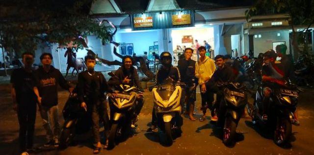 KWT Jadi Lokasi Asyik Kopdar Motomatic Lumajang