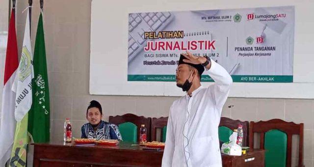 MTs Miful Bakid 2 Gandeng Lumajangsatu Gelar Pelatihan Jurnalistik