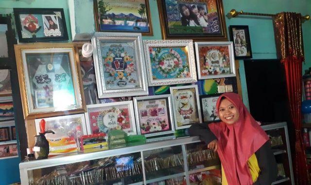 Lukisan Kaligrafi Munfaidah Art Shop Lumajang Dipesan Hingga Luar Jawa