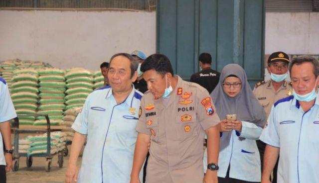 Kapolres Adewira Silaturrahim dengan Pimpinan PT Mustikatama Lumajang