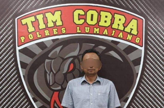 Tim Cobra Amankan Terduga Pelaku Penganiayaan Mantan Kades Pasrujambe