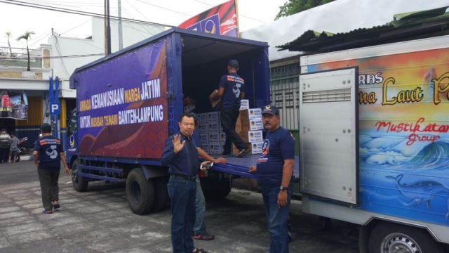 NasDem Lumajang Kirim Bantuan Korban Tsunami Banten dan Lampung