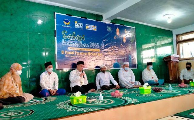 NasDem Jatim Safari Ramadhan di Ponpes Miful Bakid Lumajang