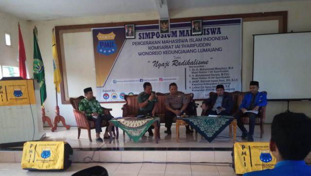 Tekan Paham Ekrimis Masuk Kampus, PMII IAI Syarifuddin Gelar Ngaji Radikalisme