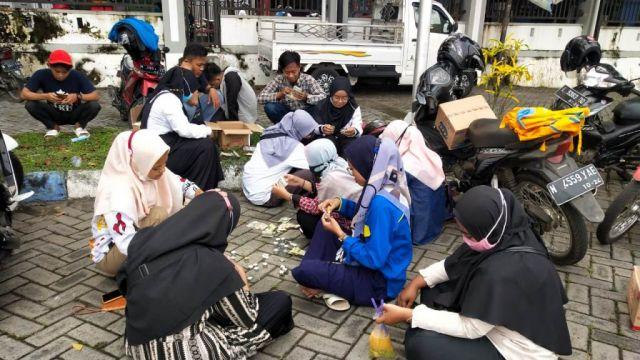 PC PMII Lumajang Galang Dana Bantu Korban Bencana NTT