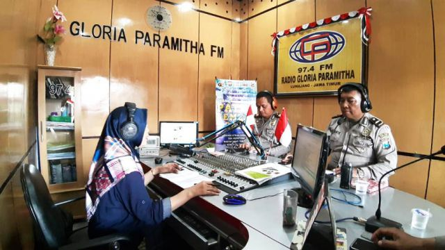 IGP Atma Giri Sosialisasi Ops Patuh Semeru 2019 Melalui Media Radio