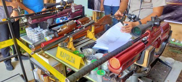 Senjata Ilegal Asal Lumajang Dijual ke Wilayah Konflik
