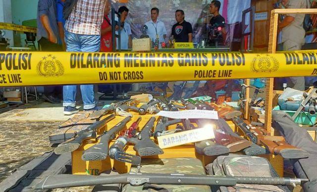 Senjata Rakitan Asal Lumajang Diduga di Jual ke Luar Negeri