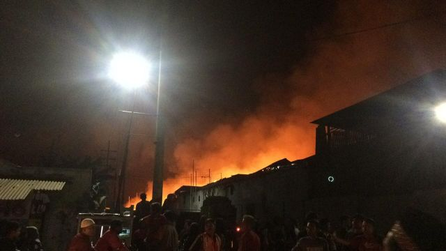Pabrik Kayu Kannawood di Besuk Tempeh Lumajang Terbakar