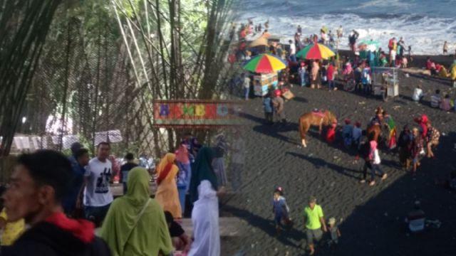 Paling Favorit saat Lebaran! Hutan Bambu dan Pantai Bambang Tembus 42 Ribu Pengunjung
