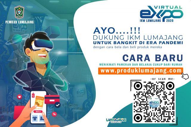 HARJALU ke-765, Pemkab Lumajang Launching Pameran Virtual