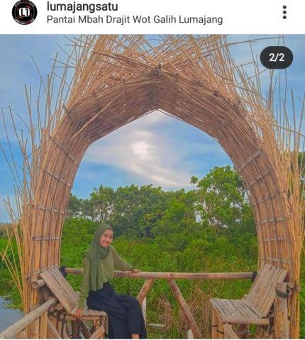 PPKM Diperpanjang, Ini Dampak Bagi Wisata Pantai Wotgalih Lumajang