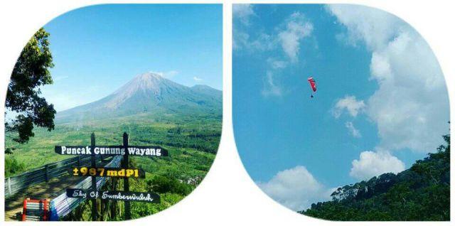 19-20 Juni Paralayang Akan Terbang dari Puncak Gunung Wayang Lumajang