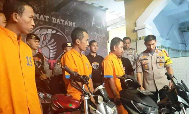 Patroli Cyber Tim Cobra Amankan 3 Penjual Sepeda Bodong Hasil Kejahatan