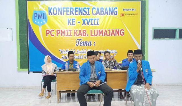 Muslimin Ghozali Pimpin PC PMII Lumajang 2018-2019
