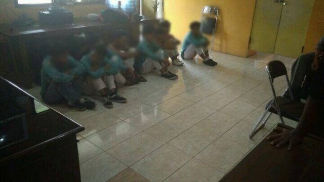 Pesta Miras Oplosan 8 Pelajar Diamankan Satpol PP Lumajang