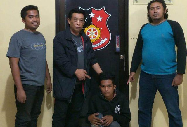 Lempar Kaca Mobil dengan Batu, Pemuda Selok Anyar Ditangkap Polisi