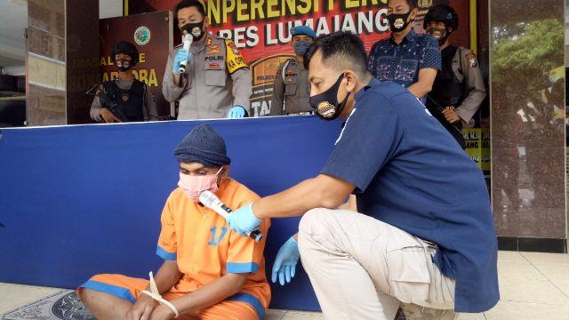 Tim Cobra Lumajang bekuk Pelaku Curanmor Asal Desa Mangunsari