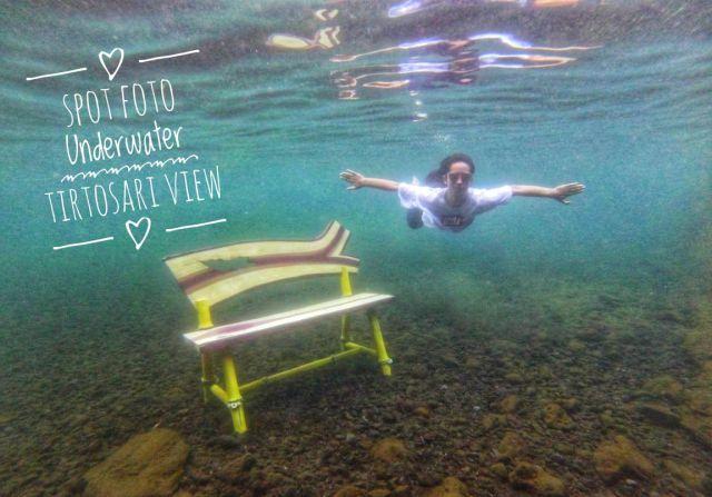 Spot Foto Underwater di  Tirtosari View Diburu Kalangan Milenial